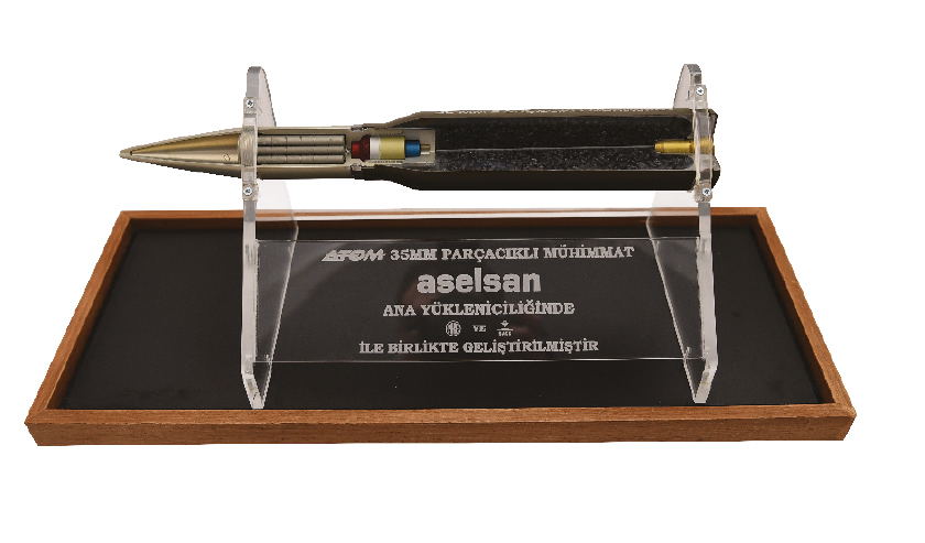 A Production Milestone in ATOM 35mm Air Burst Munition Electronics