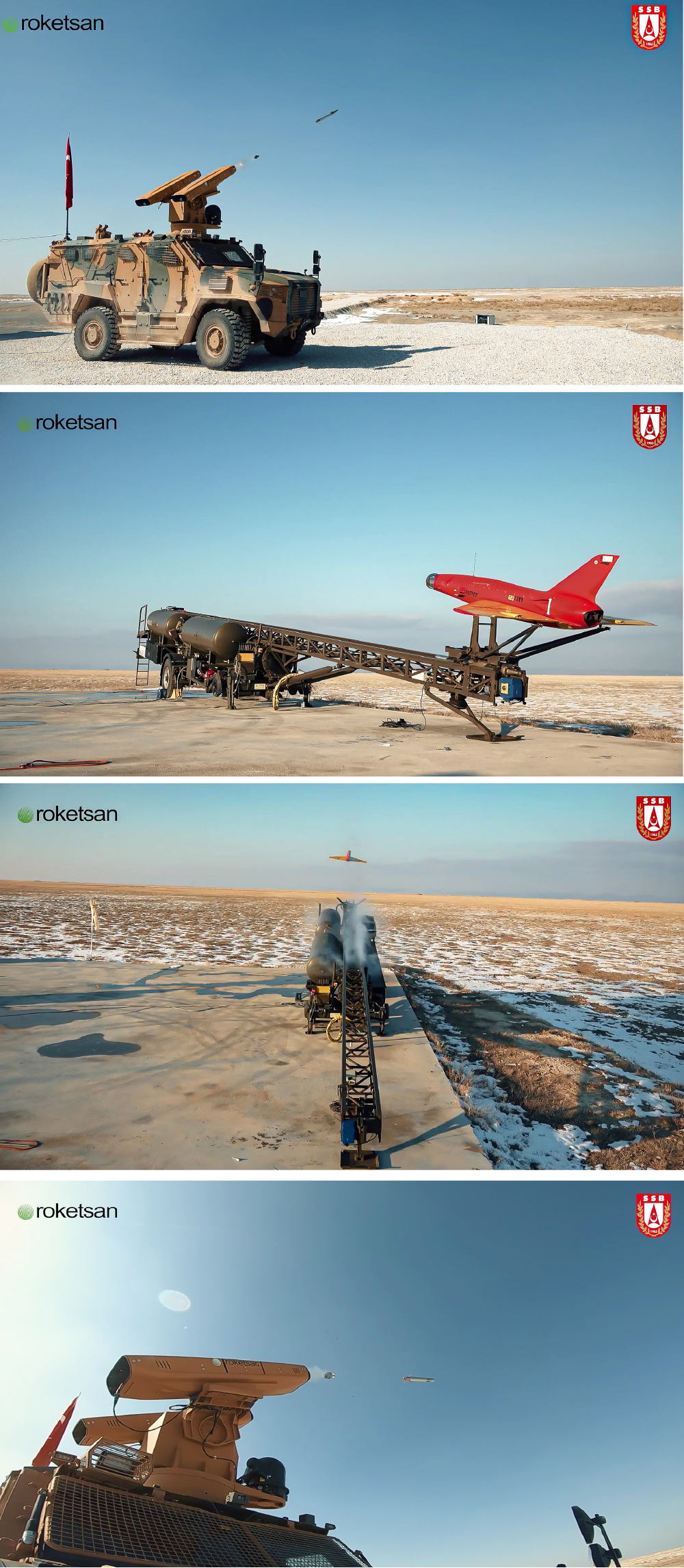 SUNGUR Low-Altitude Air Defense System Successfully Hits Target