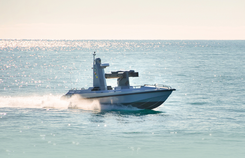 Turkey`s First Indigenous Armed Unmanned Surface Vehicle