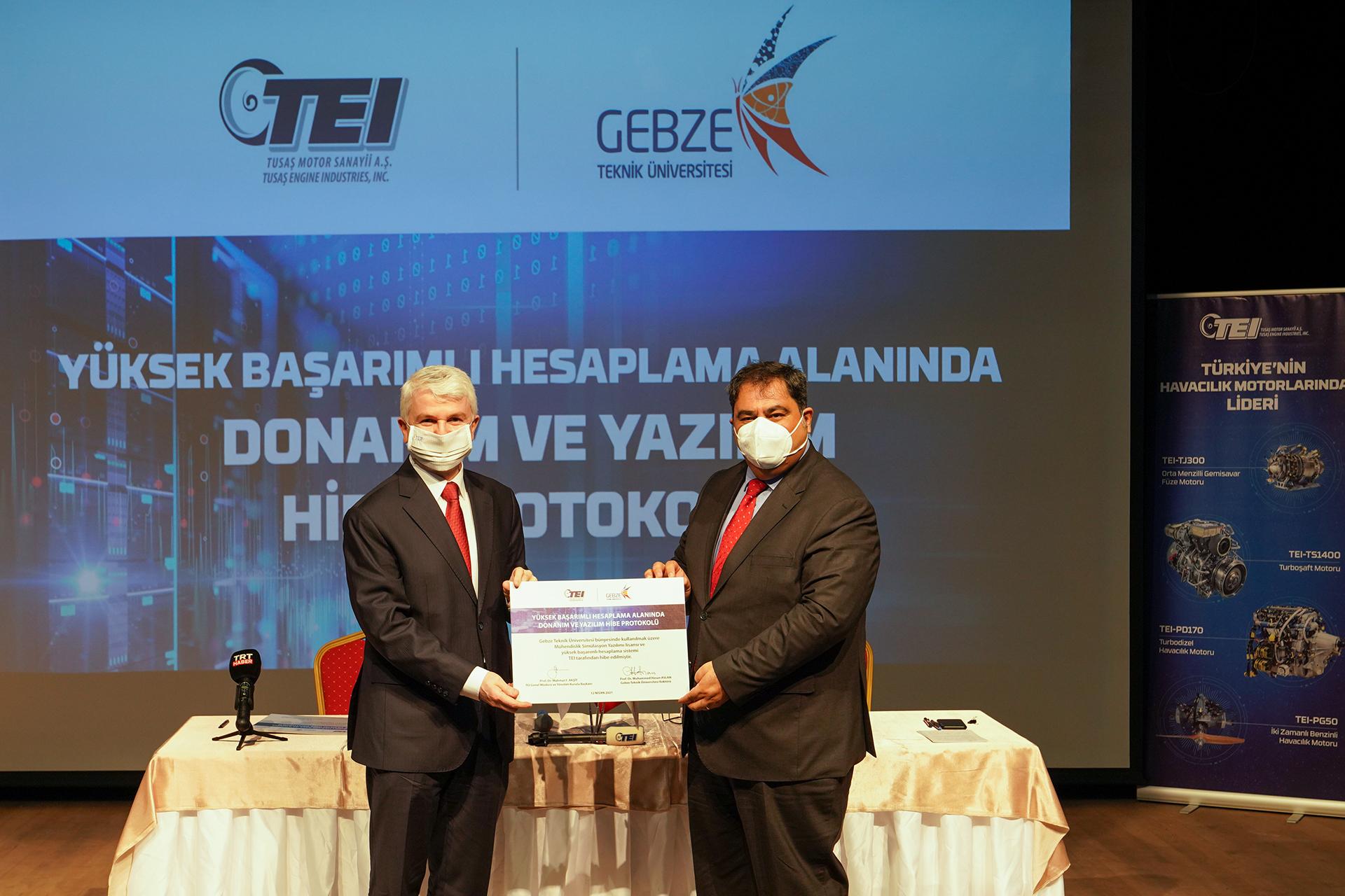 TEI'den GTÜ'ye Yüksek Başarımlı Laboratuvar