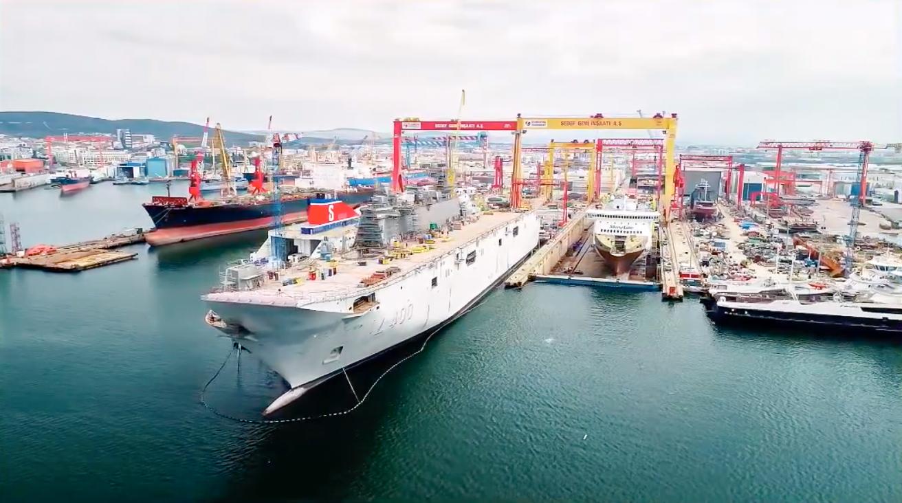 TCG Anadolu - Deniz Kuvvetlerinin Güç Çarpanı Olacak