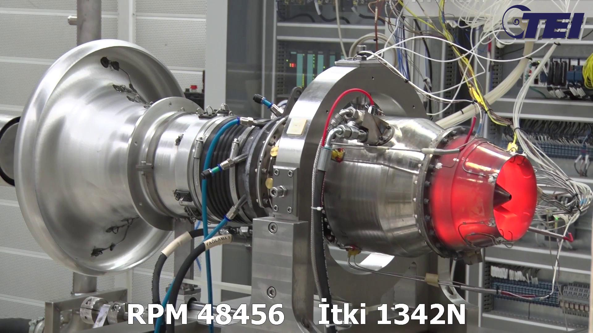 TEI-TJ300 Motorundan Dünya Rekoru