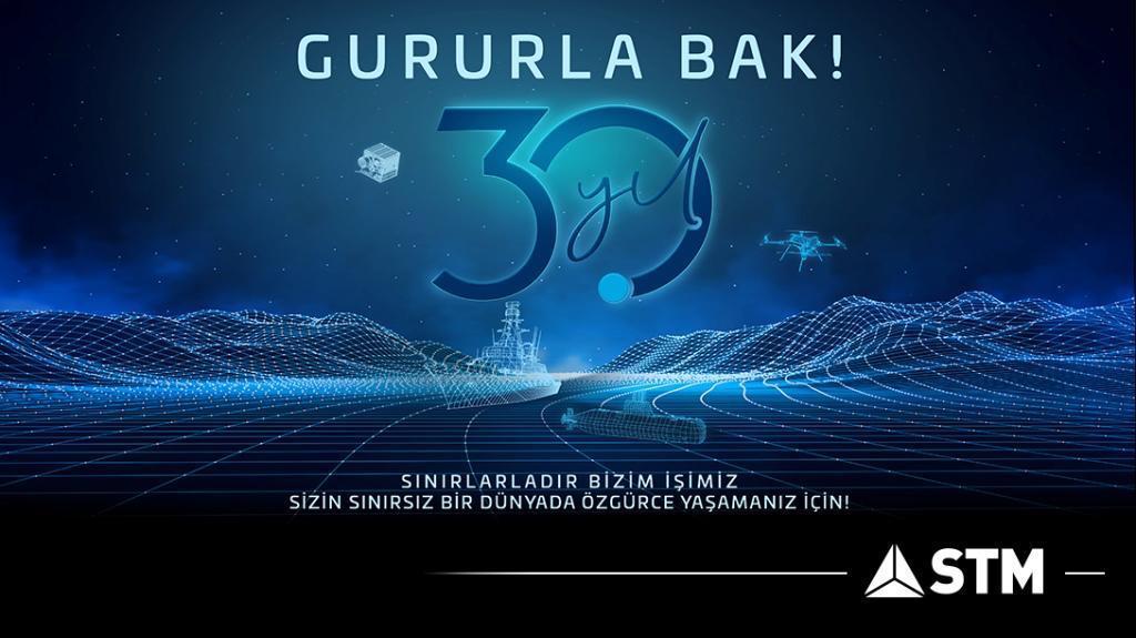 STM 30. Kuruluş Yıl Dönümünü Kutluyor