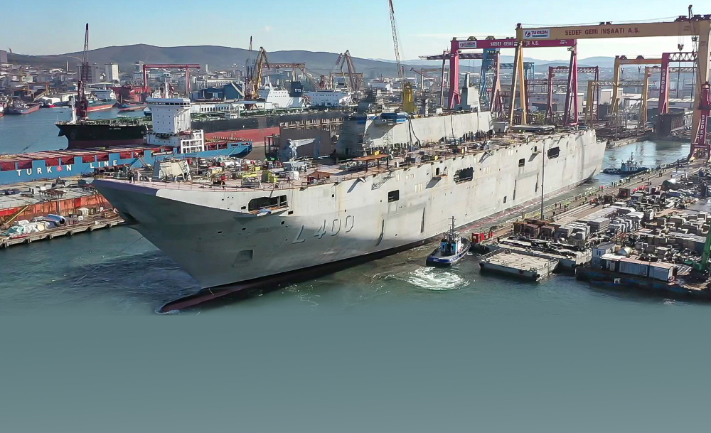 SSB President Prof. DEMİR: `We Encourage the Shipyard to the Delivery of LHD Anadolu Before the End of 2021.`