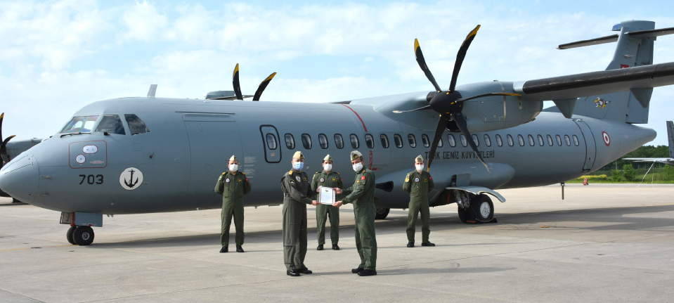 The Third Aircraft Delivered to the Turkish Naval Forces Under The MELTEM-3 Project
