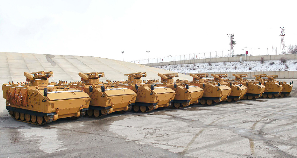9 KAPLAN ATVs Delivered to the Turkish Armed Forces