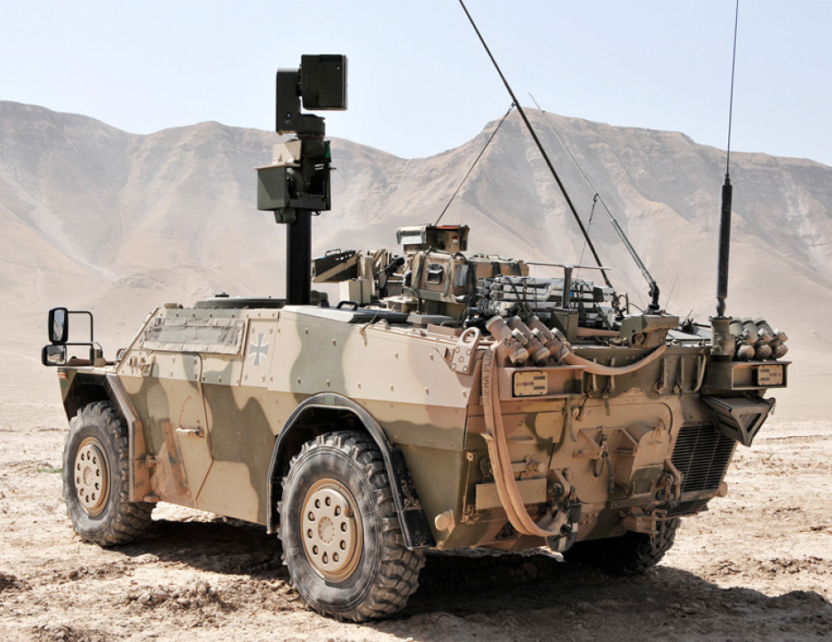 HENSOLDT  to Supply Sight Systems Worth € 75 Million for Dutch Armored Reconnaissance Vehicles