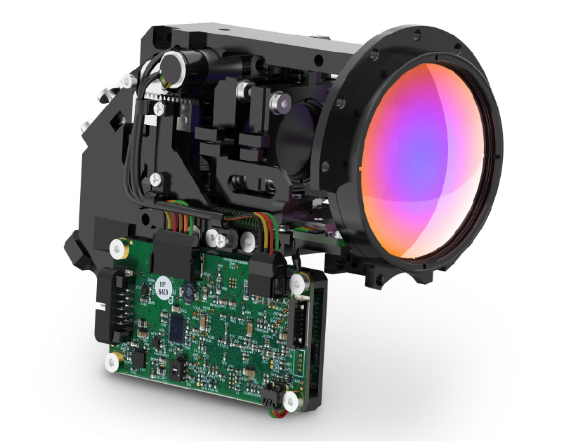 MKS Launches Ophir MWIR Folded Zoom Lens for Drone and Small Gimbal Applications