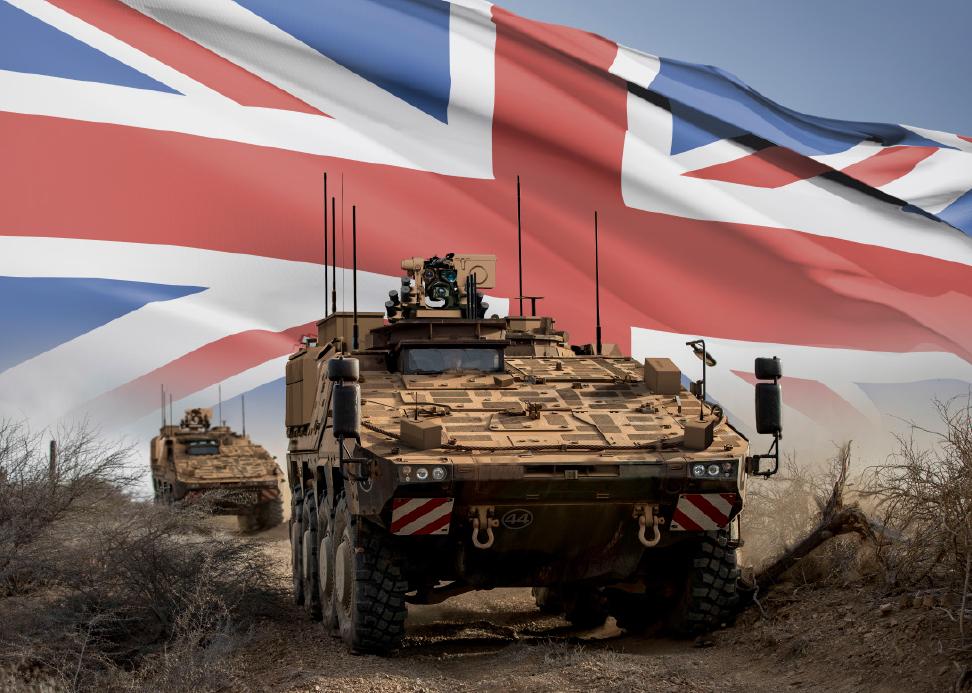 UK Boxer MIV Program: WFEL to Manufacture Boxer MIV for UK Mod