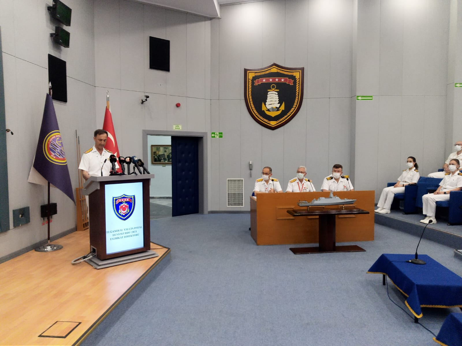DENİZKURDU-2021 Exercise Kicks Off on May 25 with The Participation of Over 25 Thousand Personnel