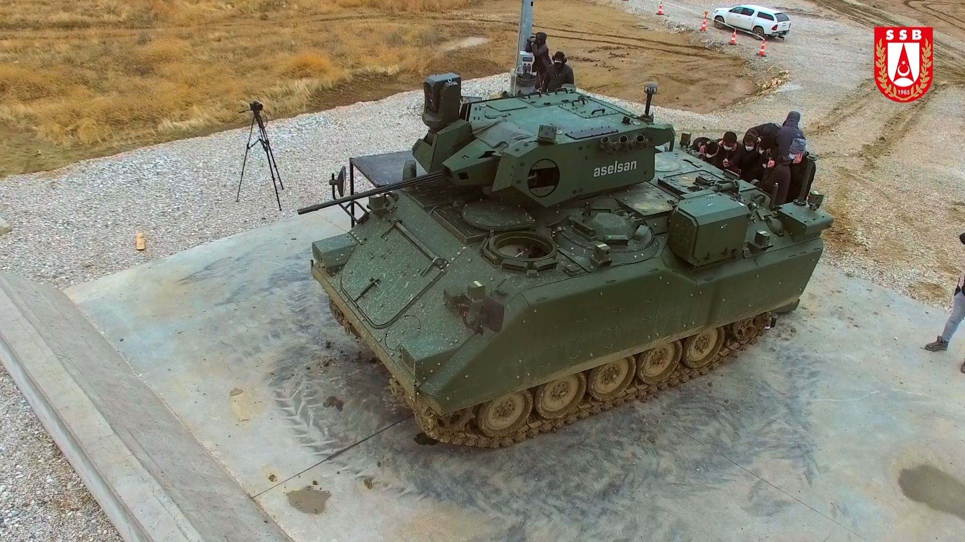 Driving & Firing Tests were Successfully Performed in the ACV Modernization Project