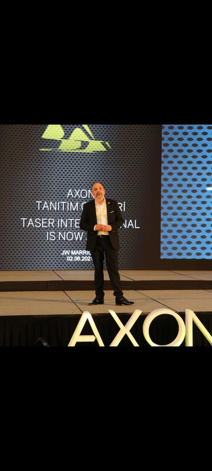AXON Enterprise Held Demo-Day in Ankara