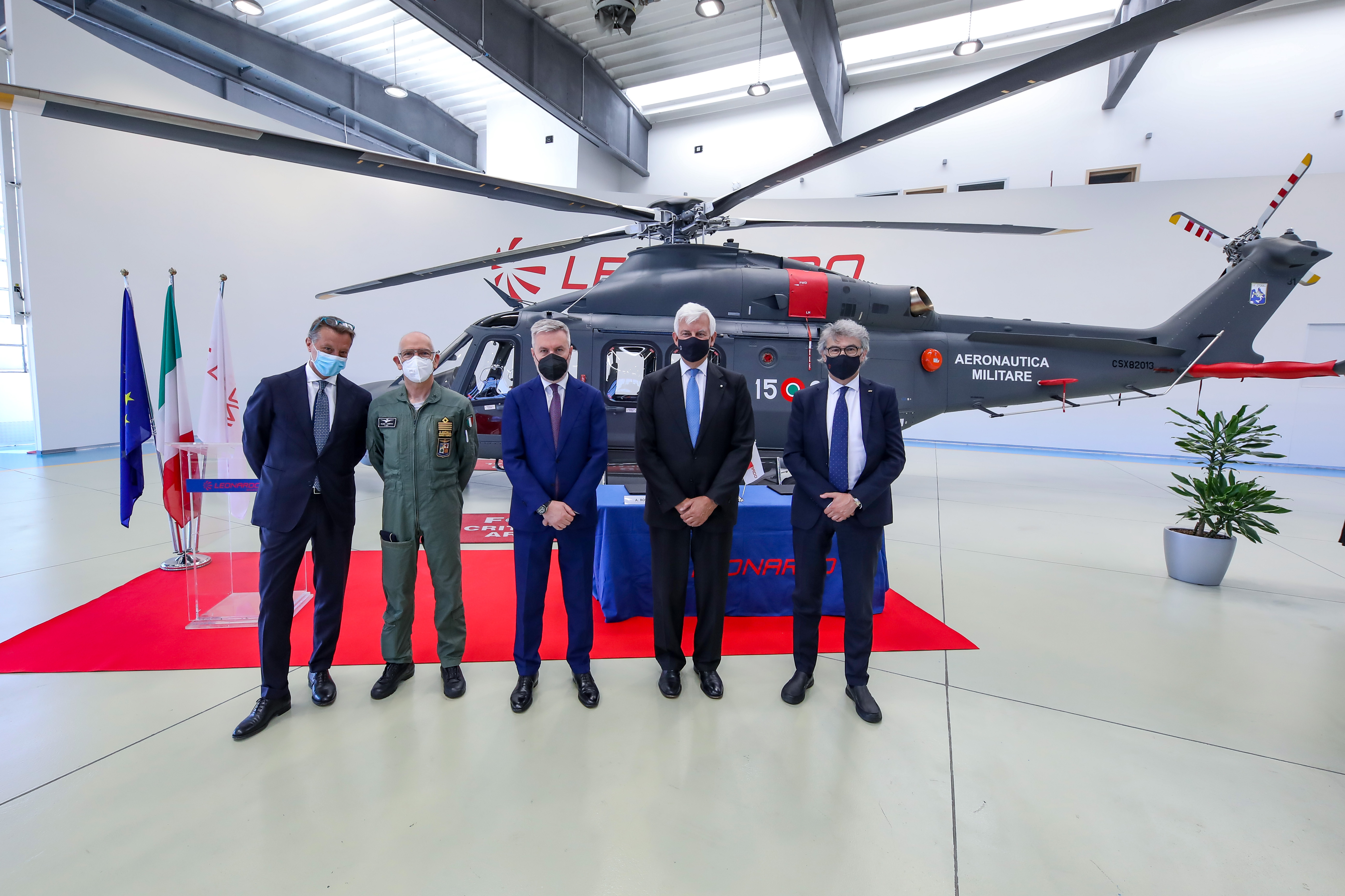 Leonardo delivers HH-139B helicopter to the Italian Air Force