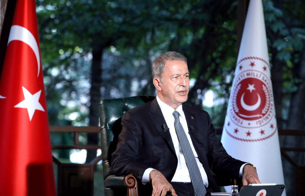 """Minister of National Defense Hulusi AKAR:  """"We Continue to Develop Our Defense Capabilities Both for the Surface & Underwater of Our Homeland!"""""""