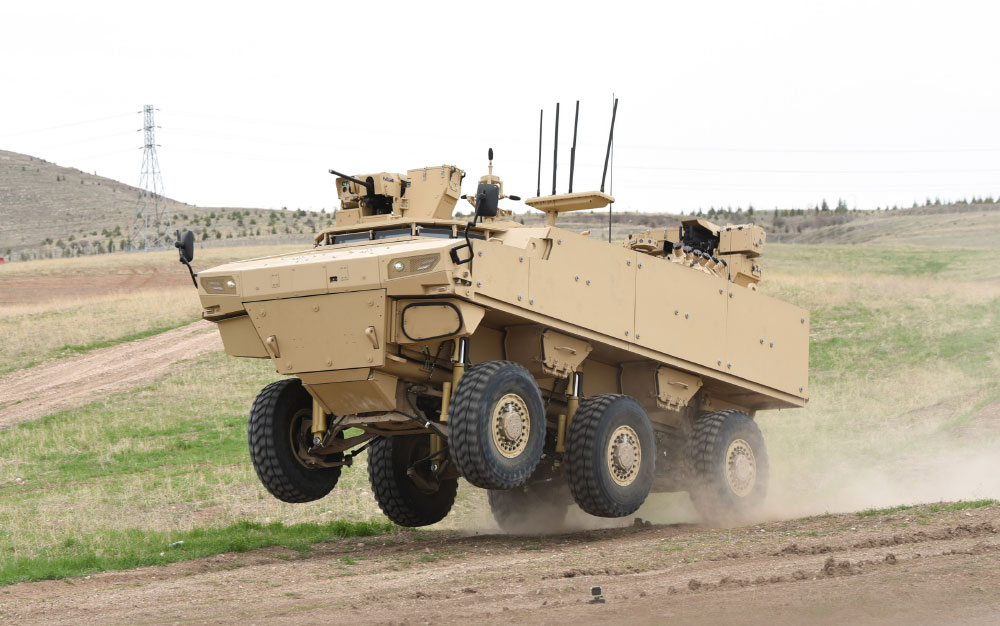 PARS IV 6x6 Special Operations Vehicle with Highest Protection Level in Its Class Continues Qualification Tests