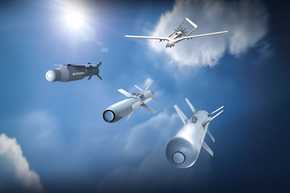 Roketsan Advances the Strike Power of Armed UAVs with MAM-T The New Addition to the Smart Micro Munition Product Family