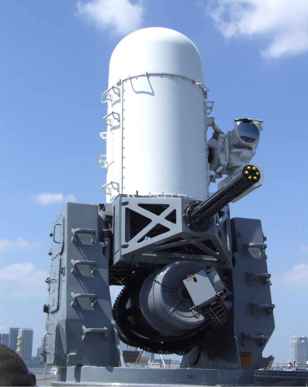 Delivery of Modernized Phalanx Mk-15 Block 1B (Baseline 2) Close-In Weapon Systems (CIWS) Completed!