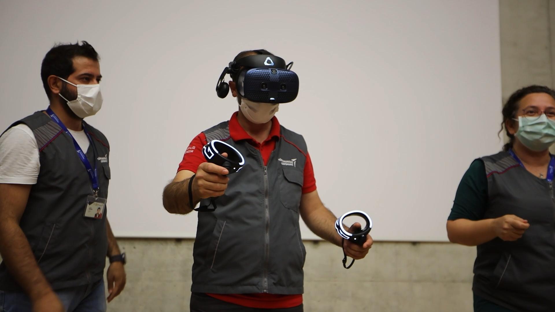 TUSAŞ'tan Sanal Gerçeklik Eğitimi: VR Tabanli İçerikler İle 5 Bin Teknisyene Üretim Ve Tasarim Eğitimi Veriliyor