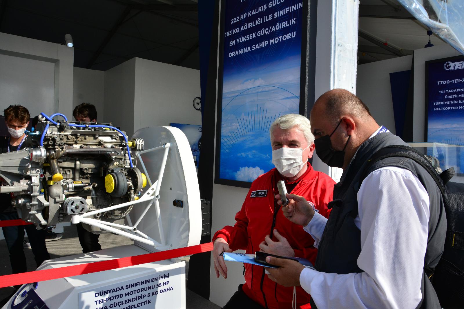 TEI-PD222ST Turbodizel Havacılık Motoru; BAYRAKTAR TB3 ve AKINCI TİHA için Milli Güç Çözümü
