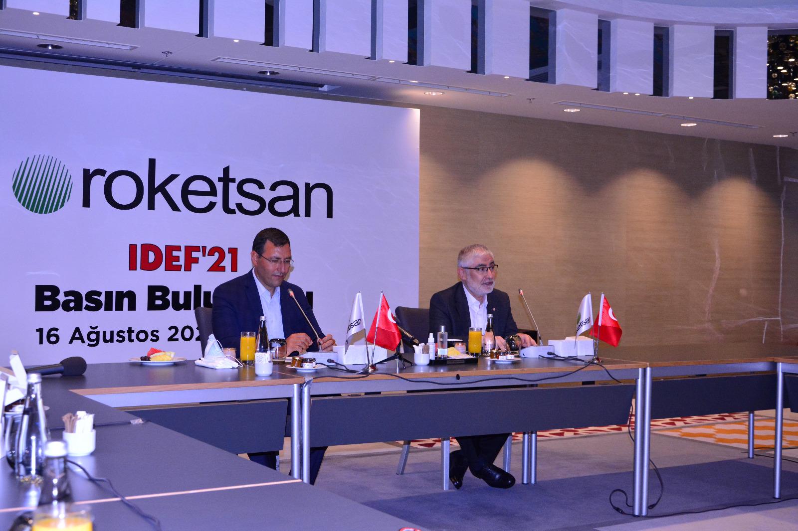 Türkiye'nin Roket ve Füze Mükemmeliyet Merkezi ROKETSAN, IDEF '21 Fuarına İlk Kez Sergilediği 9 Ürün ile Damga Vurdu!