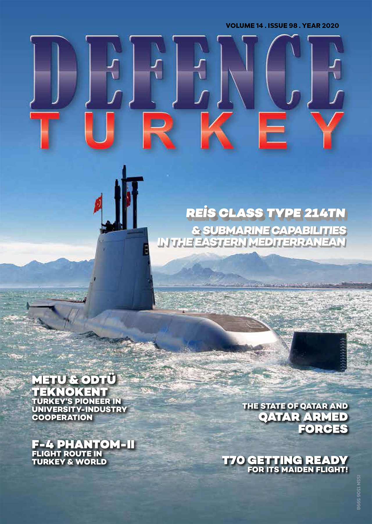 Defence Turkey Magazine Issue 98