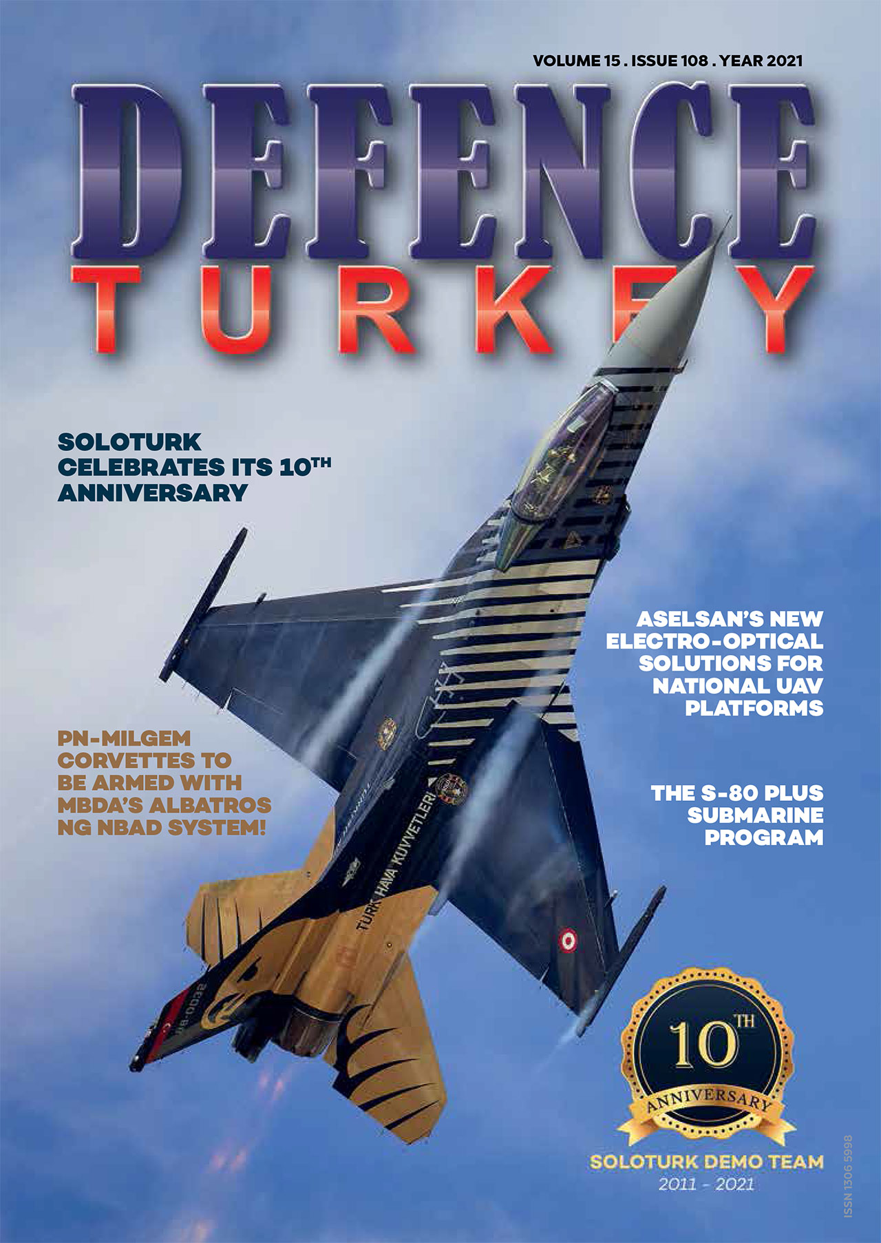 Defence Turkey Magazine Issue 108